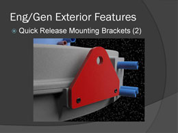 quick release mounting brackets