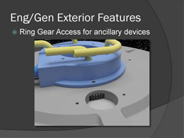 ring gear access for ancillary devices